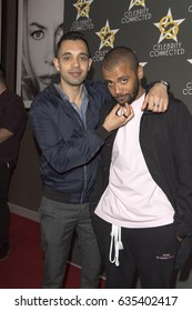 Sachin Sahel, Jarod Joseph attends  Celebrity Connected Luxury Gifting Suite Honoring The MTV Movie & TV Awards, May 6th, 2017 in W Hotel Hollywood, Los Angeles CA.