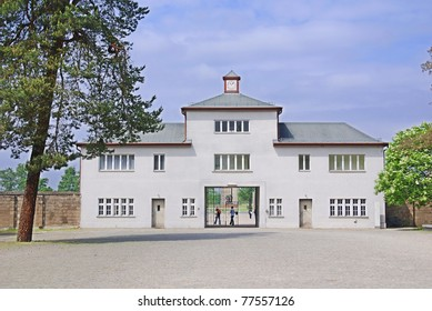 Sachsenhausen or Sachsenhausen-Oranienburg was a Nazi concentration camp in Oranienburg, Germany, used primarily for political prisoners from 1936 to the end of the Third Reich in May, 1945.