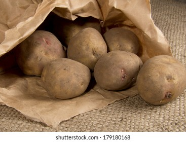 Sack of Organic Potatoes