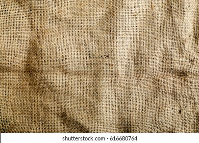 Sack Texture Background Brown, Woven, Close-up