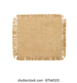 Sackcloth background texture