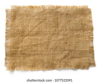 Sackcloth cotton as background