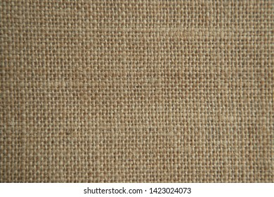 Sackcloth texture background. Rustic jute sackcloth fabric.