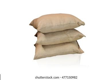 sacks bag isolated on white background