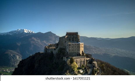 Sacra di San Michele, unusual views
