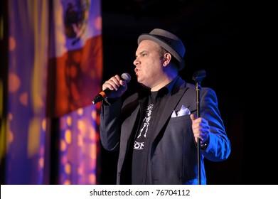 SACRAMENTO, CA - MAY 5: Gene Pompa performs at Thunder Valley Casino on May 5, 2011 in Rocklin, CA