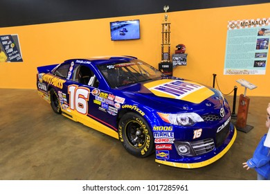 SACRAMENTO, CA, USA - FEB 2, 2018:  California Automobile Museum, a collection of over 150 classic cars, race cars, muscle cars and early models displayed throughout 72,000 square feet of museum space