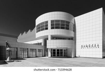 SACRAMENTO, CALIFORNIA - JULY 29: Exterior of the Crocker Art Museum on July 29, 2017 in Sacramento, California