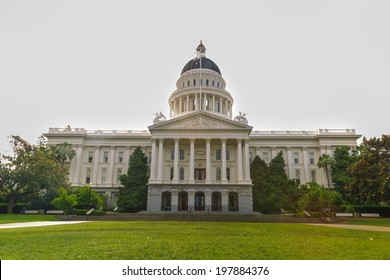 Sacramento, California, United States - June 10, 2013: The California State Capitol is the seat of the government of California, housing the chambers of the state legislature in Sacramento.