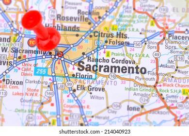 Sacramento and Map