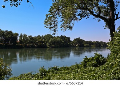 Sacramento River in Red Bluff, California