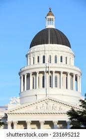 Sacramento, United States - California State Capitol building.