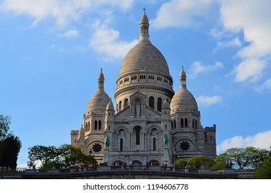 Sacre Couer in Paris during the Day