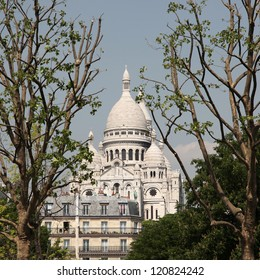 Sacre-Coeur Basilica in Paris, France