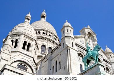 Sacre-Coeur, Montmartre, Paris