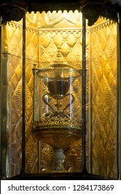 Sacred cup at the Saint Mary's Cathedral in Valencia, Spain which is believed to be the cup that Christ used to the last supper.