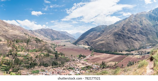 Sacred Valley of the Incas, Urubamba Valley. It is located in the present-day Peruvian region of Cusco.