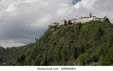 the Sacro Monte ancient complex in Varrallo Sesia, Italy