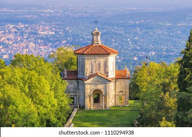 Sacro Monte di Varese, The Assumption of Mary, Fourteenth Chapel to the Sanctuary of Santa Maria del Monte