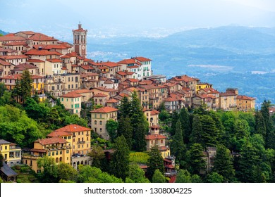 Sacro Monte di Varese, Lombardy, Italy, is a famous christian sanctuary and is listed as UNESCO World Culture Heritage sit