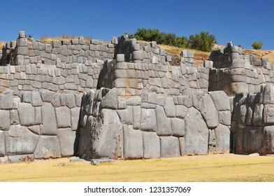 Sacsayhuaman a citadel on the northern outskirts of the city of Cusco in Peru, the historic capital of the Inca Empire.
