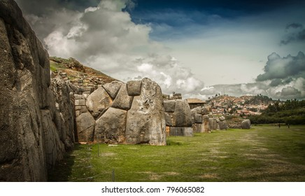 Sacsayhuaman, Cusco city, Peru