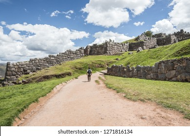 Sacsayhuaman historical site in Cusco, Peru
