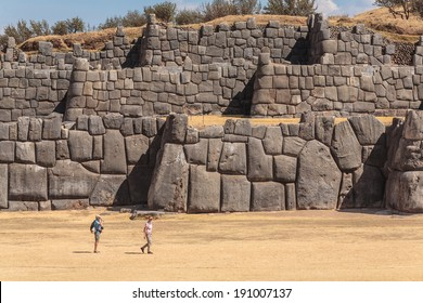 SACSAYHUAMAN  AND PEOPLE