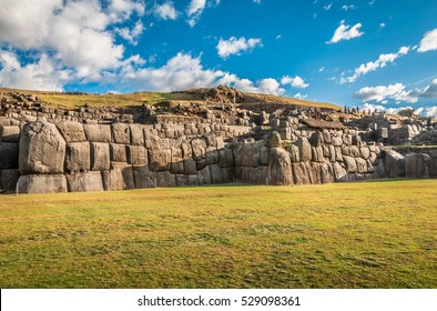 Sacsayhuaman ruins outside of Cusco, Peru