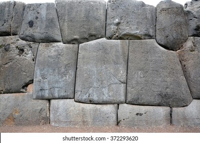 Sacsayhuaman Ruins,Cuzco, Peru.Fortress Sacsayhuaman - the last  stronghold of the Incas in the north of Cusco.