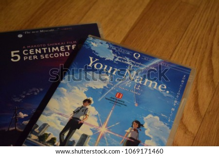 Sad Anime Dvd Movies Your Name And 5 Centimeters Per Second Kongsvinger Norway