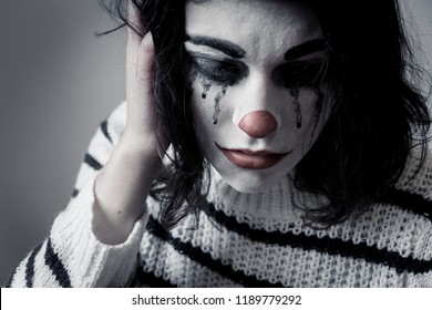 Crying Clown Images Stock Photos Vectors Shutterstock