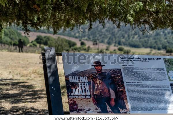 Sad Hill Cemetery Burgos Spain May Stock Photo (Edit Now