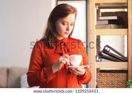 peeking down her blouse