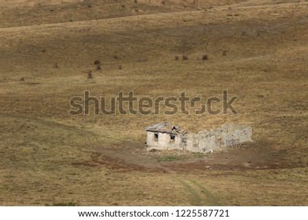 Boxer Sad Ruined Abandoned Animal Farm On The Endless Grassy Highlands Of Old Mountain Shutterstock Sad Ruined Abandoned Animal Farm On Stock Photo edit Now