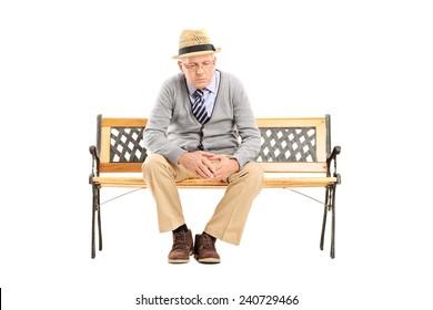Incredible Imagenes Fotos De Stock Y Vectores Sobre Man Sitting On A Evergreenethics Interior Chair Design Evergreenethicsorg