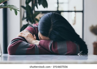 sad serious illness woman.depressed emotion panic attacks alone sick people fear stressful crying.stop abusing domestic violence,help person with health anxiety,thinking bad frustrated exhausted