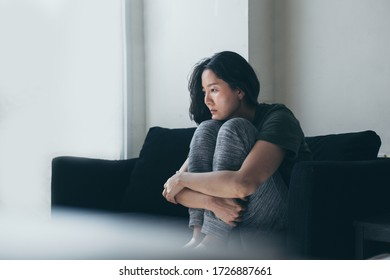 sad serious woman.depressed emotion panic attacks alone young people fear stressful.crying begging help.stop abusing domestic violence,person with health anxiety, bad frustrated exhausted feeling down