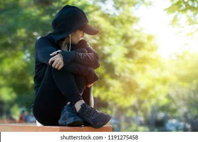Listening Sad Music Images Stock Photos Vectors Shutterstock
