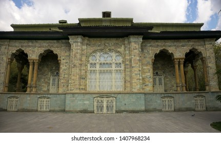 The Sa'dabad Palace Complex, Tehran/iran-April 25, 2019: SAdabad Palace is a 300 hectare complex built by the Qajar and Pahlavi monarchs, located in Shemiran, Greater Tehran, Iran.