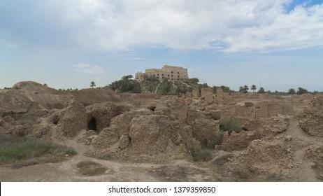 Saddam Hussein's palace in Babylon city, Iraq