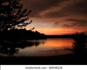 Saddle Lake Sunrise