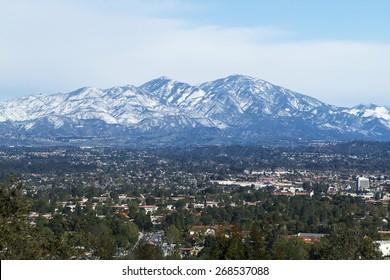 Saddleback Mountain with Snow