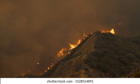 Saddleridge Fire Los Angeles County Near Santa Clarita, Porter Ranch, Sylmar California Wildfire