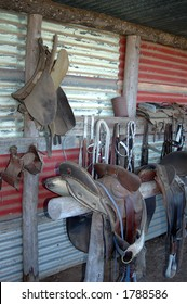 Saddles and horse gear