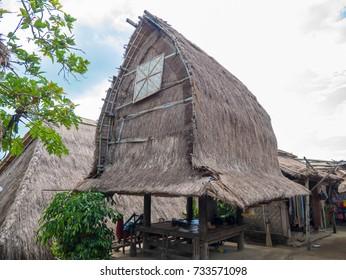Sade Sasak Village Lombok. Indonesia
