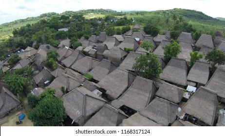 Sade Village, Sasak Ethnic Group, Lombok, west nusa tenggara, Indonesia