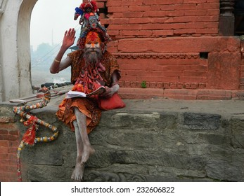 Sadhu Baba in Pashupatinath (Kathmandu, Nepal).