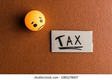 Sadness due the tax