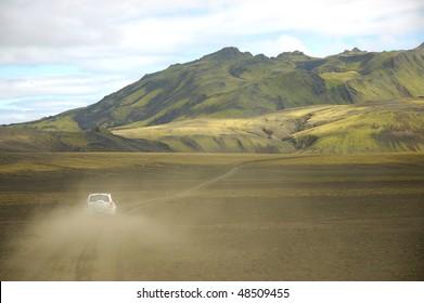 Safari in Iceland.